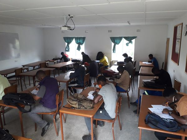 , Second years working hard